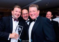 CEW Awards dinner, Loudoun Square Team, Award winners 2011, BREEAM Healthcare, Excellent